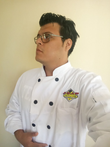 Chaqueta Marca Chef Works 2xl Blanca Filipina Para Chef