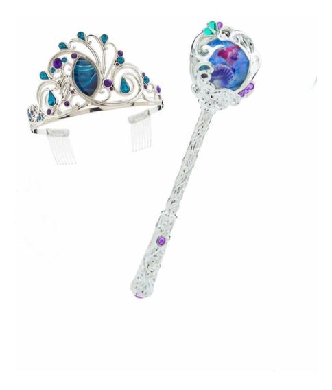 Tiara - Corona Y Cetro-varita Princesa Ariel Disney Store