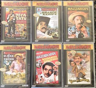 Dvd Coleçao Mazzaropi - 6 Filmes (original Lacrado)