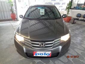 Honda City 1.5 Dx 16v 2011 Prata Flex