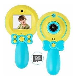 Nakawu Kids Camera, Usb Rechargeable Digital Camera For Boys