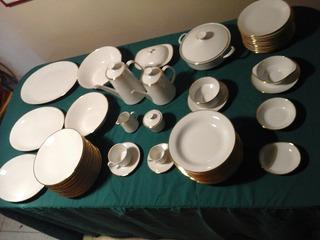 Vajilla 12 Puestos Porcelana Bavaria 144 Piezas Kronester