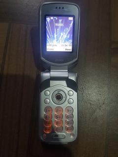 Sony Ericsson Z530i Retro,telcel+cargador+bocina+manos Libre