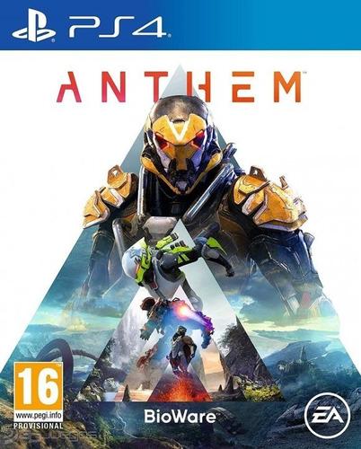 Anthem Ps4 Fisico Sellado Original