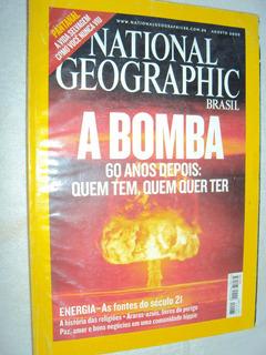 Revista National Geographic Brasil: A Bomba (sebo Amigo)