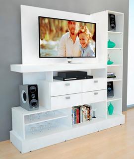 Modular Tv Mesa Rack Mueble Moderno Living Smart Tv Cajones