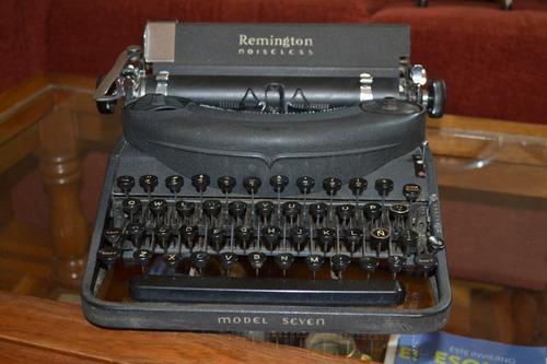 Maquina De Escribir Remington Noiseless