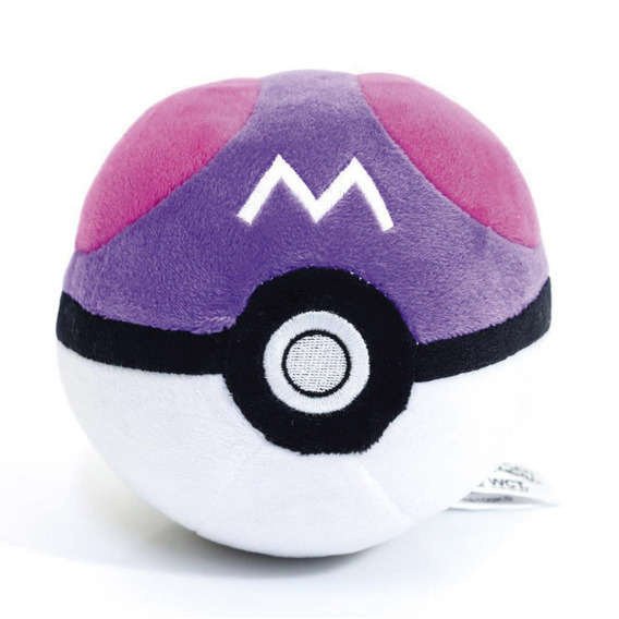 Pelúcia Pequena - 12 Cm - Pokémon - Pokébolas Bola Mestra -