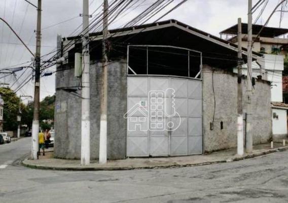 Galpão À Venda, 1200 M² Por R$ 3.200.000 - Fonseca - Niterói/rj - Ga0020