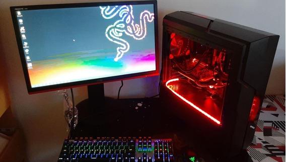 Pc Gamer 16gb-ssd 240gb-gtx1060 6gb-hd 1tb + Monitor + Itens