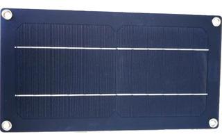 Cargador De Celular Por Usb Con Panel Solar Portatil 5v 5w