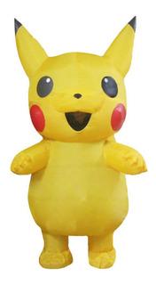 Disfraz Pikachu Inflable Adulto Envio Gratis