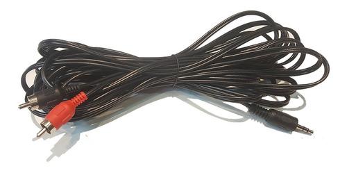 Cable Auxiliar Rca A Mini Plug 7m