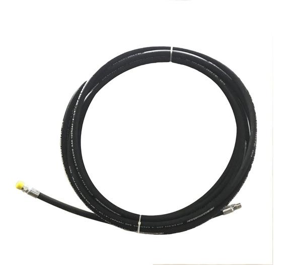Manguera Para Hidrolavadora Industrial 5800 Psi 15 Metros 1/4 Doble Malla De Acero Alta Presión Muy Resistente
