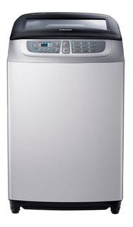 Lavarropas automático Samsung WA80F5S4UD plata 8kg 220V