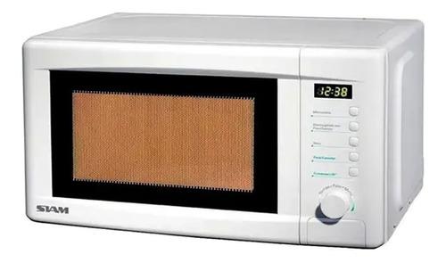 Microondas Digital Siam Md20s Blanco 700w 20l 5 Niveles