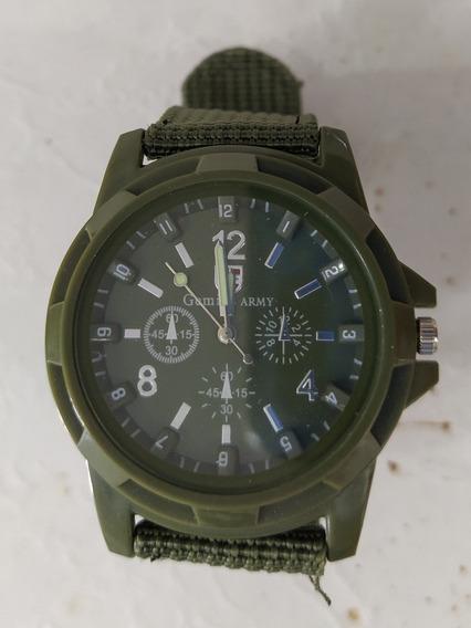 Relógio Militar Army Exercito Verde
