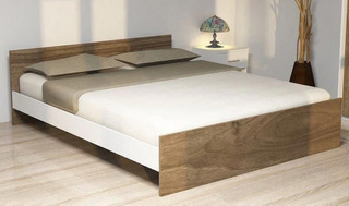 Cama 21/2 Plaza Matrimonial Box 1,60 Mts