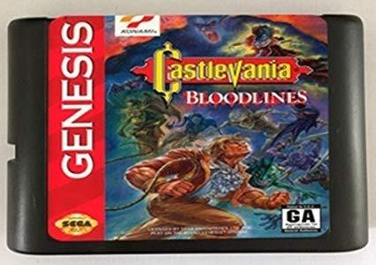 Castlevania Bloodlines Mega Drive + Brinde