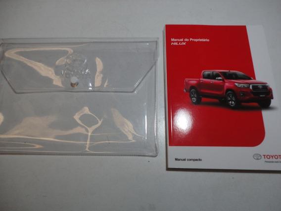 Manual Toyota Hilux 2018 2019 2020 Original 2.7 2.8 16v 4x4