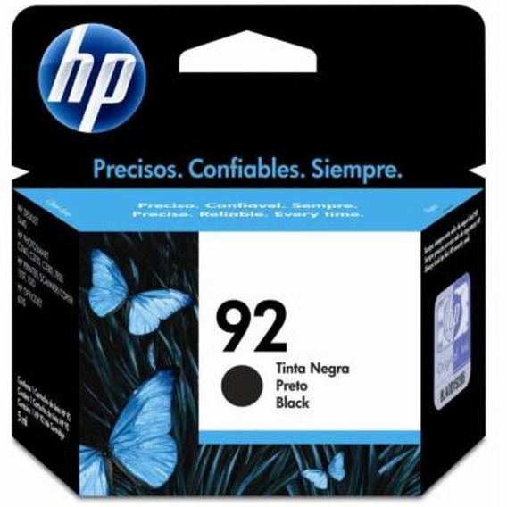 Cartucho Hp 92 Preto 5ml - C9362wb