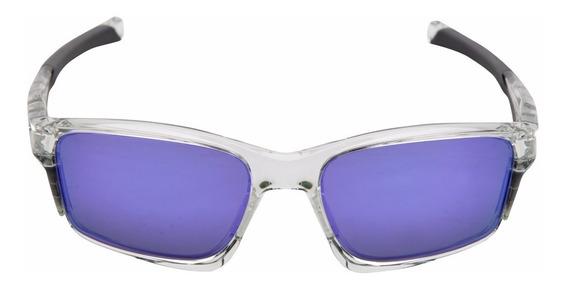 Óculos Oakley Chainlink -violet Iridium Novo E Original