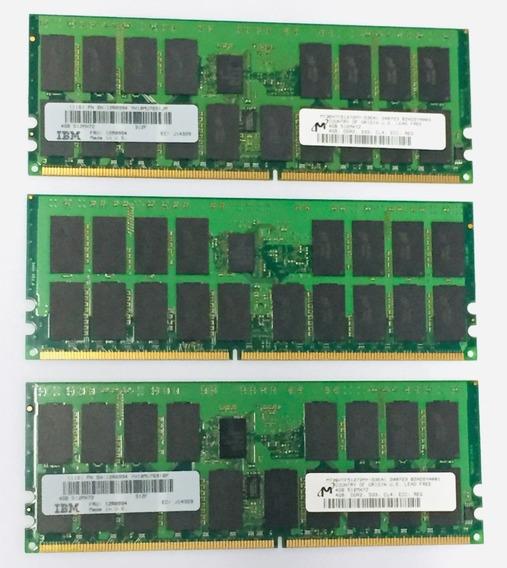 Memória Ibm 4gb Ddr2 Ecc Reg 512mx72 Fru: 12r8994 312f