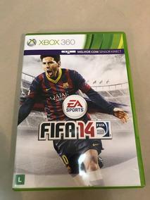 Jogo Fifa 2014 Usado Xbox 360 Mídia Física Original