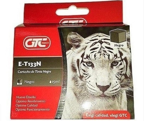 Cartucho Alternativo T133 Negro Gtc P/tx235w/tx420w/tx320f