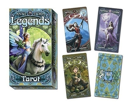 Tarot Legends (leyenda) Este Tarot Está En Español.
