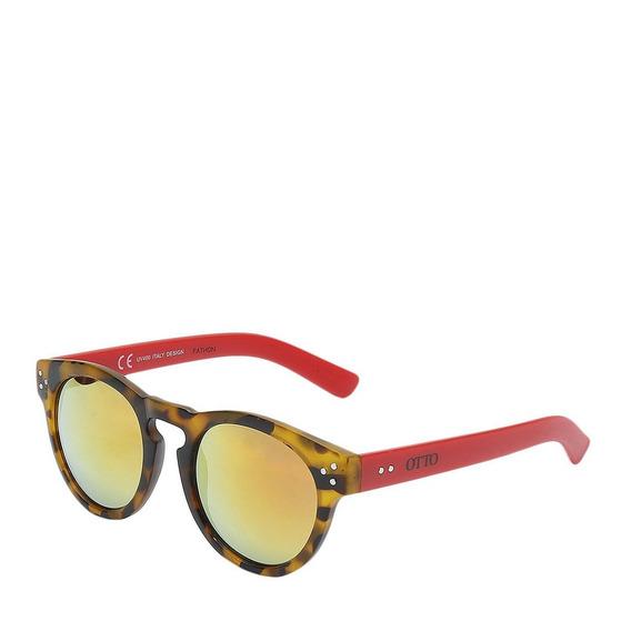 Óculos Solar Otto Tartaruga/vermelho - Fathon