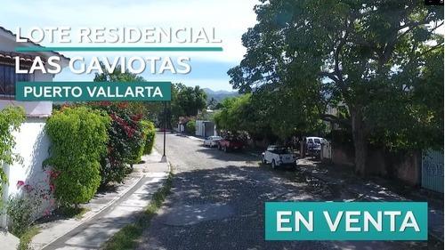 Residencial Las Gaviotas, Terreno En Venta, Puerto Vallarta