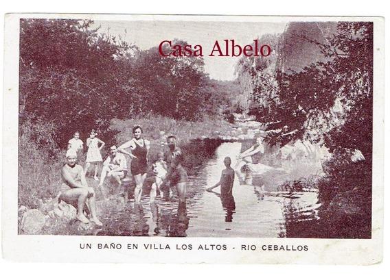 Un Baño En Villa Los Altos - Rio Ceballos
