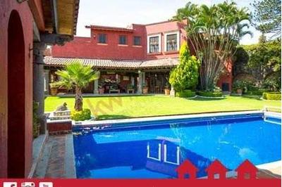 En Venta Exclusiva Residencia En Cuernavaca, Morelos