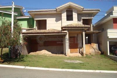 Sobrado Residencial Inacabado À Venda, Condomínio Granja Deolinda, Sorocaba. - So1811