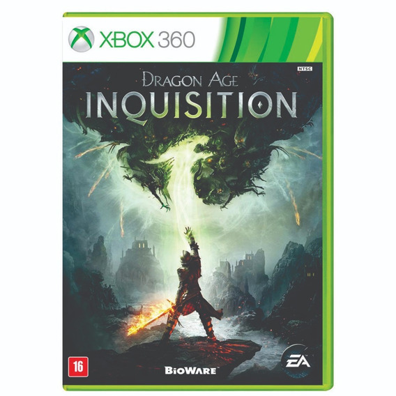 Dragon Age Inquisition - Xbox 360 - Midia Fisica - Lacrado