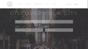 Tema Para Guia Turístico Online, Guia De Cidades - 2018