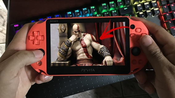 Ps Vita Mídia Física God Of War Collections. (frete Fácil)