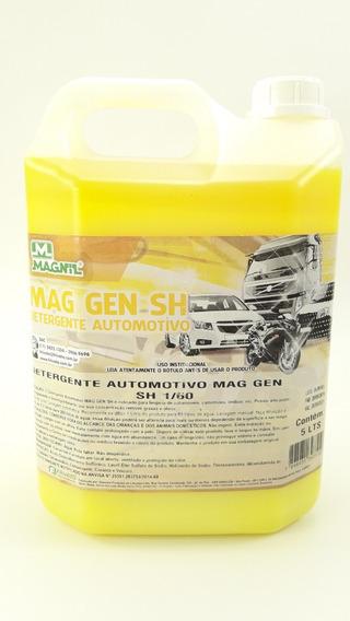 Shampoo Lava Carro Moto Rende 300 Lts Magnil 5 Litros