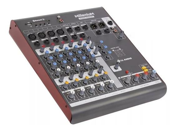 Mesa De Som 6 Canais Mx602 Ll Audio Bluetooth Gravador