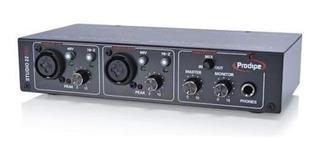 Interface Audio Usb Placa De Sonido Prodipe Studio 22 Pro