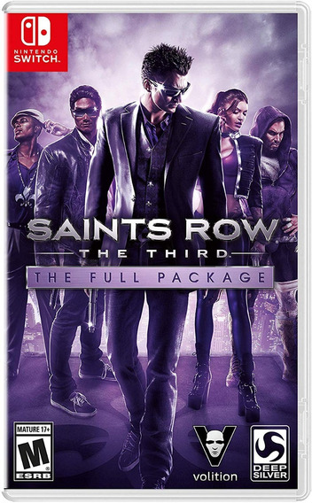 Saints Row The Third - Switch - Midia Fisica!