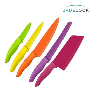 Jade Cook Set De 5 Cuchillos - Acero Inoxidable - Cv Directo