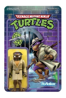 Super 7 Reaction Tmnt Undercover Donatello
