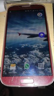 Celular Samsung Galaxy S4 Usado Rojo Octa Core 16gb