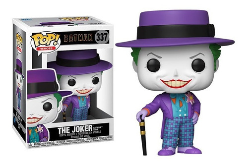 The Joker Batman 1989 Funko Pop Figura Original