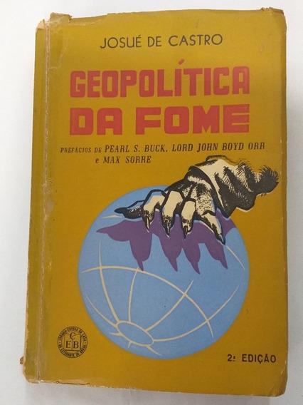 Livro Geopolítica Da Fome