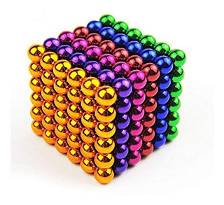 Neocube Buckyballs Neodimio Colores 216 Esferas 5 Mm Iman