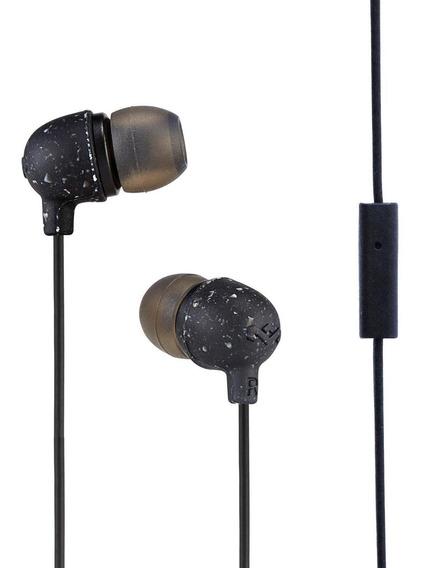 Audífonos House Of Marley Little Bird Ear 9.2mm Mic Negro