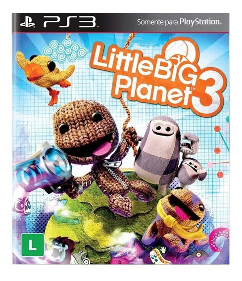 Little Big Planet 3 Ps3 Midia Digital Psn Pt/br Envio Rápido